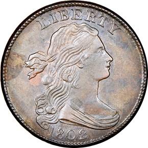 1802 1C MS obverse