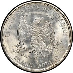 1875 S T$1 MS reverse
