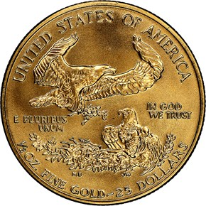 1993 EAGLE G$25 MS reverse