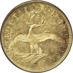 1795 9 LEAVES BD-3 $10 MS reverse