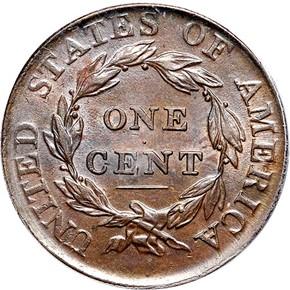 1810/09 S-281 1C MS reverse
