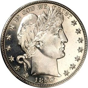 1892 O 50C SP obverse