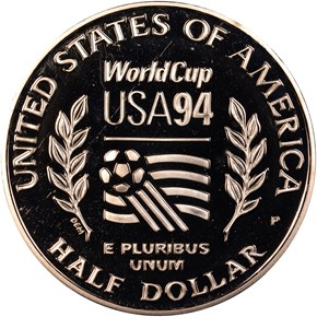 1994 P WORLD CUP 50C PF reverse