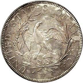 1797 50C MS reverse