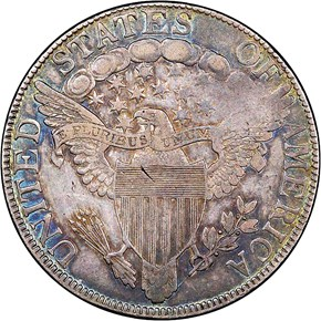 1806 OVER INVERTED 6 50C MS reverse