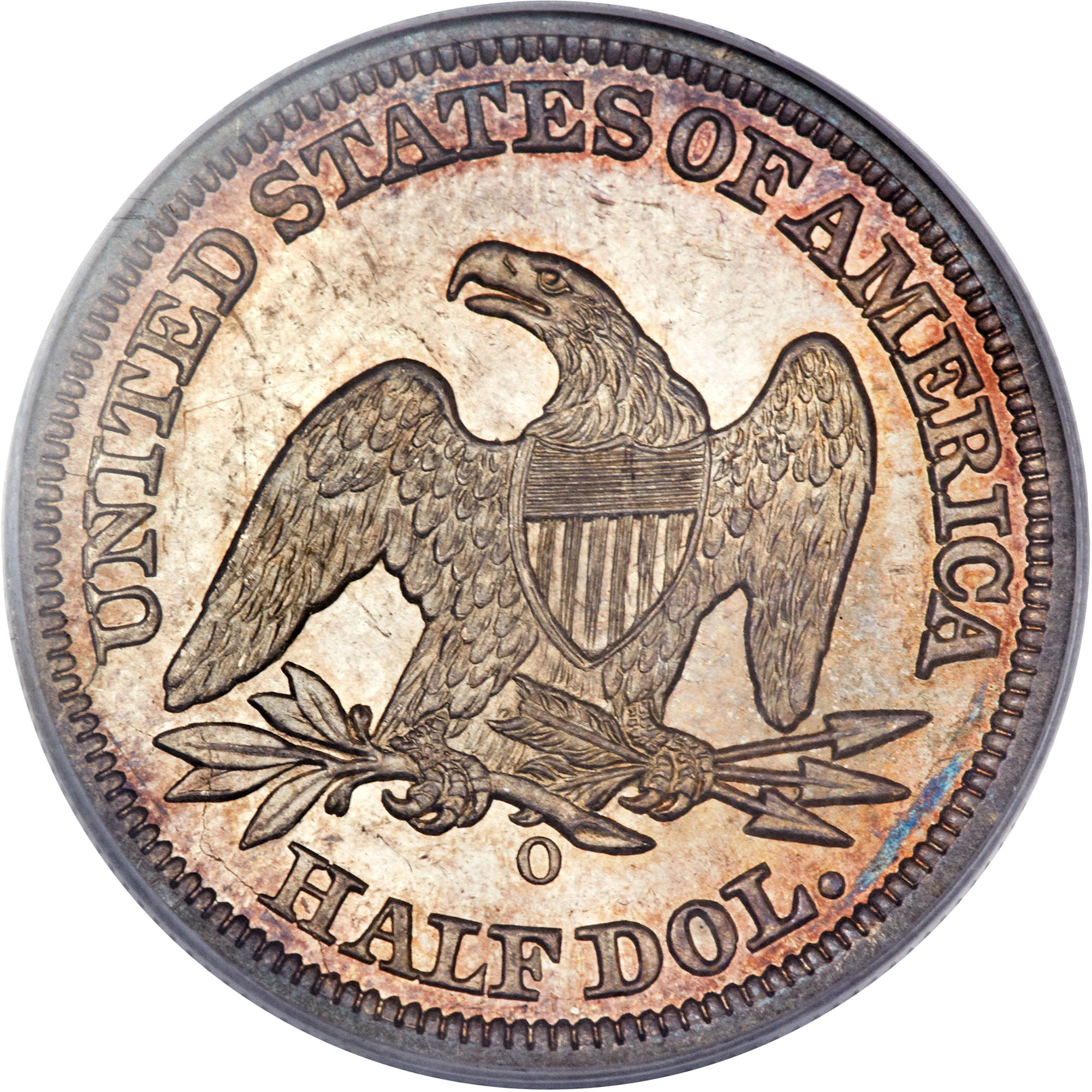 1846 O Med Date 50c Ms Seated Liberty Half Dollars Ngc