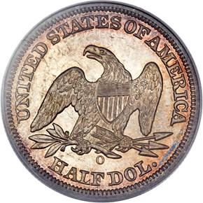1846 O 50C MS reverse