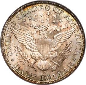 1901 S 50C MS reverse