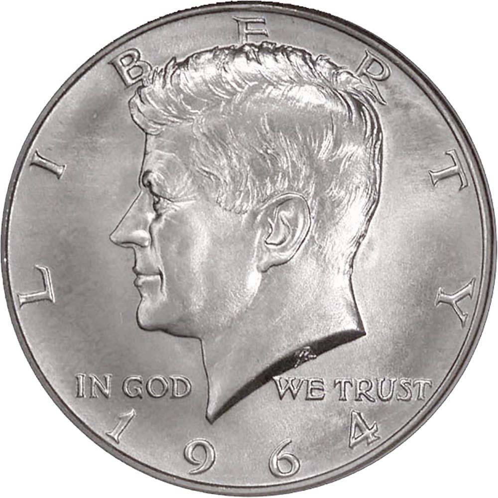 1965 50C Kennedy Half Dollar SMS Special Mint Strike