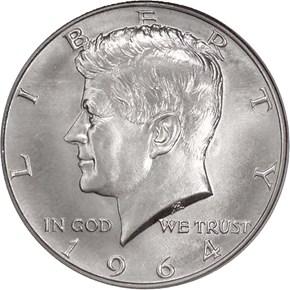 1964 50C SP obverse