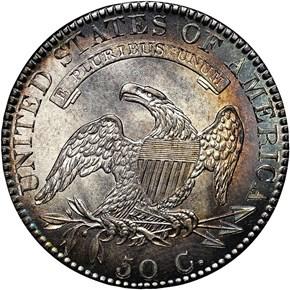 1820/19 50C MS reverse