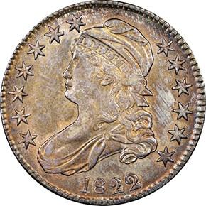 1822/1 50C MS obverse