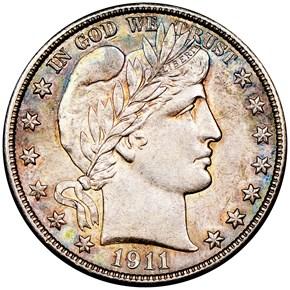 1911 S 50C MS obverse