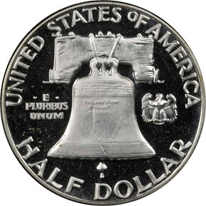 1953 50C PF reverse