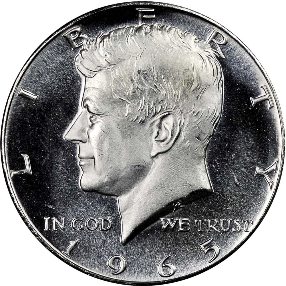 1964 through 1967  Proof//SMS Kennedy Half Dollar Set of  FOUR