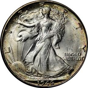 1946 S 50C MS obverse