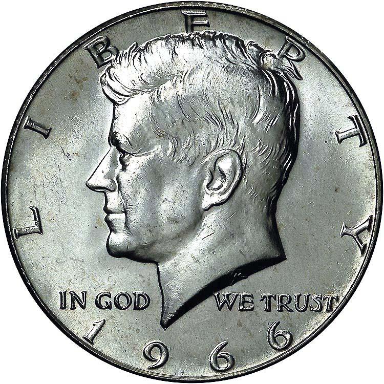 1966 50C MS Kennedy Half Dollars | NGC