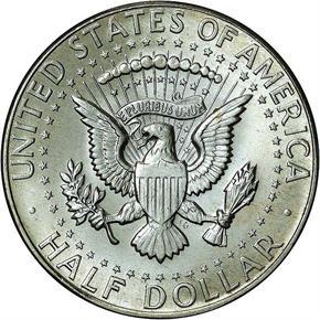 1967 50C MS reverse