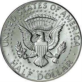1969 D 50C MS reverse