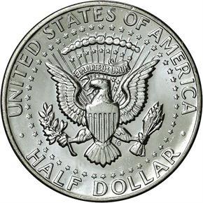 1972 D 50C MS reverse