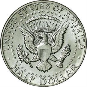 1981 D 50C MS reverse