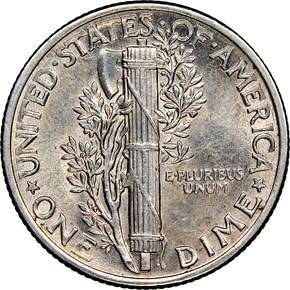1942/41 10C MS reverse