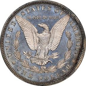 1893 $1 PF reverse