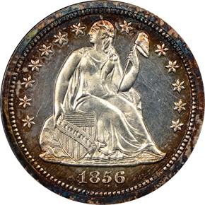 1856 10C PF obverse