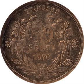 1870 J-957 50C PF reverse