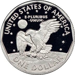 1999 P $1 PF reverse