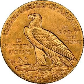 1910 $2.5 MS reverse
