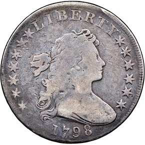 1798 LARGE EAGLE $1 MS obverse