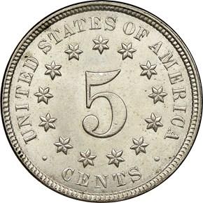 1876 5C MS reverse