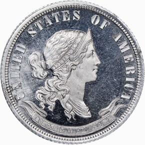 1870 J-916 25C PF obverse