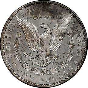 1896 $1 PF reverse