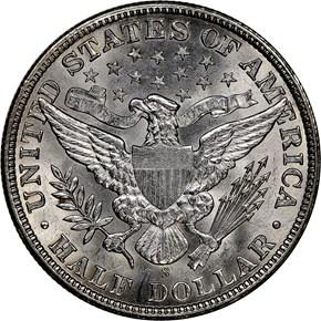 1909 S 50C MS reverse