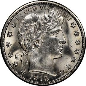 1915 S 50C MS obverse