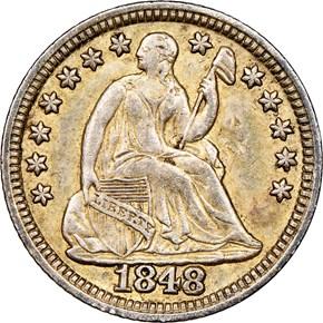 1848 H10C MS obverse