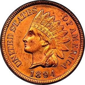 1894 1C MS obverse