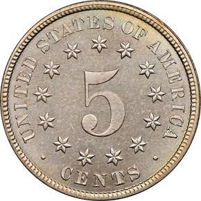 1882 5C PF reverse