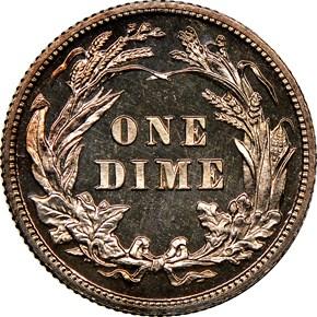 1904 10C MS reverse