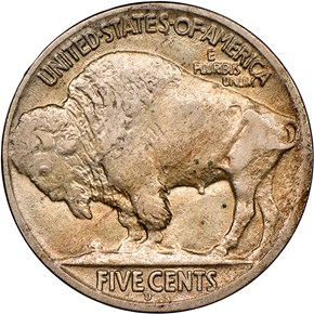 1918/7 D 5C MS reverse