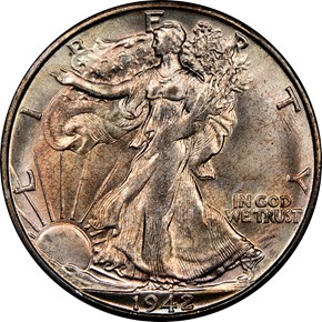 1942 S 50C MS obverse
