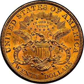 1877 S $20 MS reverse