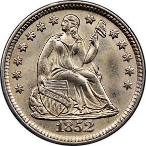 1852 H10C MS obverse
