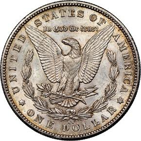 1892 CC $1 MS reverse
