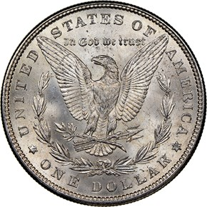 1882 $1 MS reverse