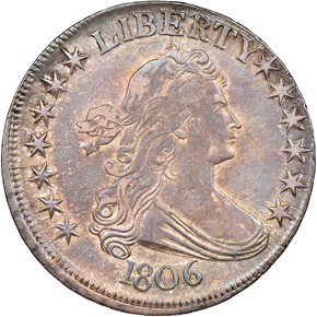 1806 50C MS obverse