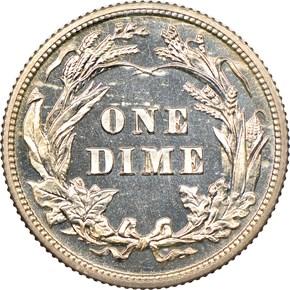 1907 10C PF reverse