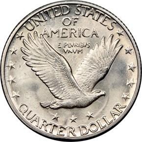 1929 S 25C MS reverse